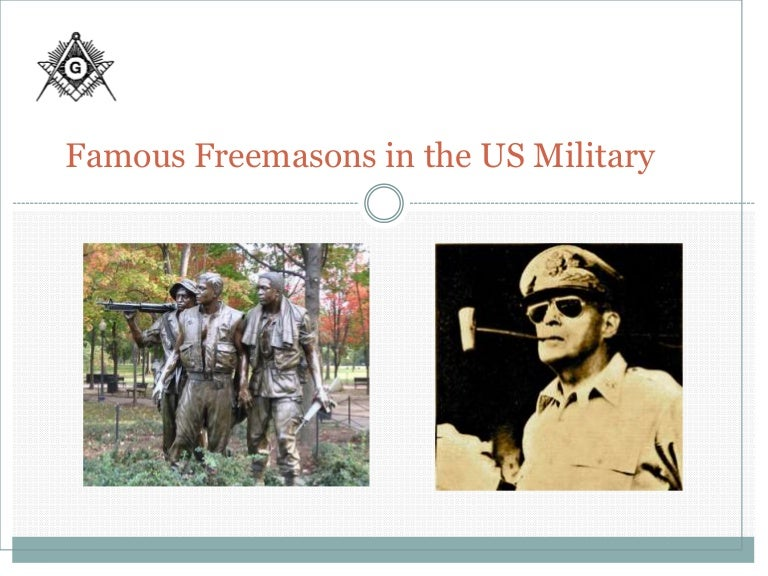 Freemasons in the military final 10 18 11