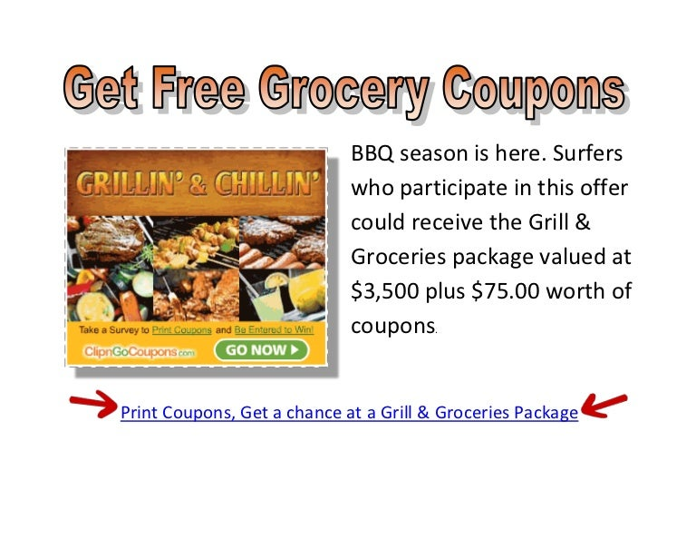 Free Online Printable Grocery Coupons