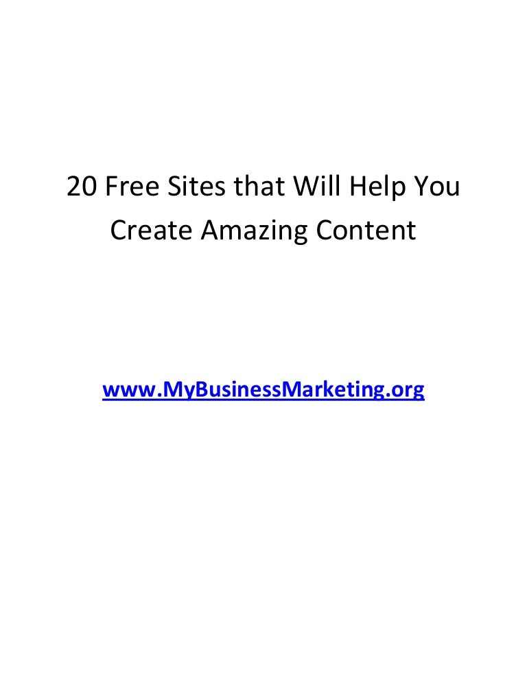 free presentation creation sites