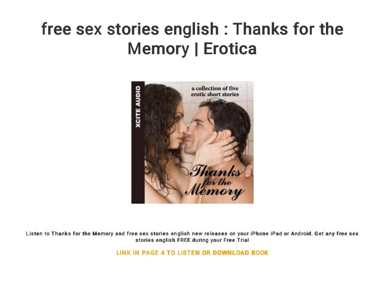 Short Sex Stories In English