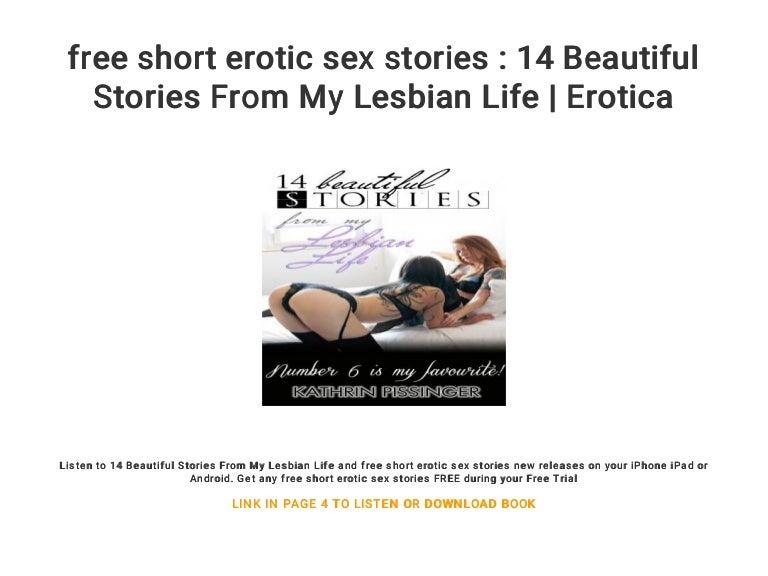 Short sex stories lesbian