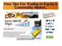 Free tips for trading
