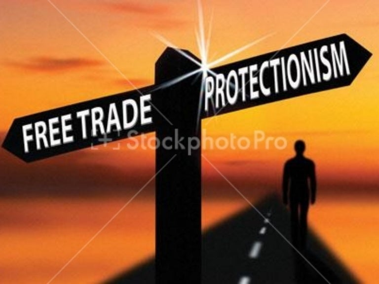 Image result for images of protectionism vs free trade