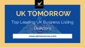 Promote Your Business Free With UK Tomorrow Business Listing Directory