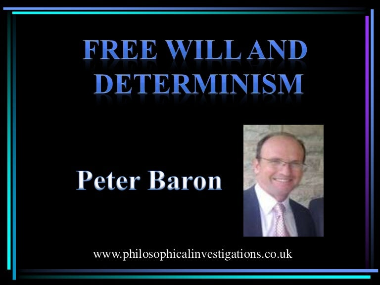 free will determinism and responsibility 1 free will, determinism, and the possibility of doing otherwise christian list1 june/july 2011, revised in june 2012, final version november 2012.