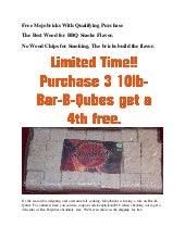 Coupon Code Free Wood for Smoking BBQ - Mojobricks