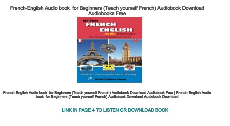 free french audio books for beginners