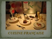 French cuisine in French language