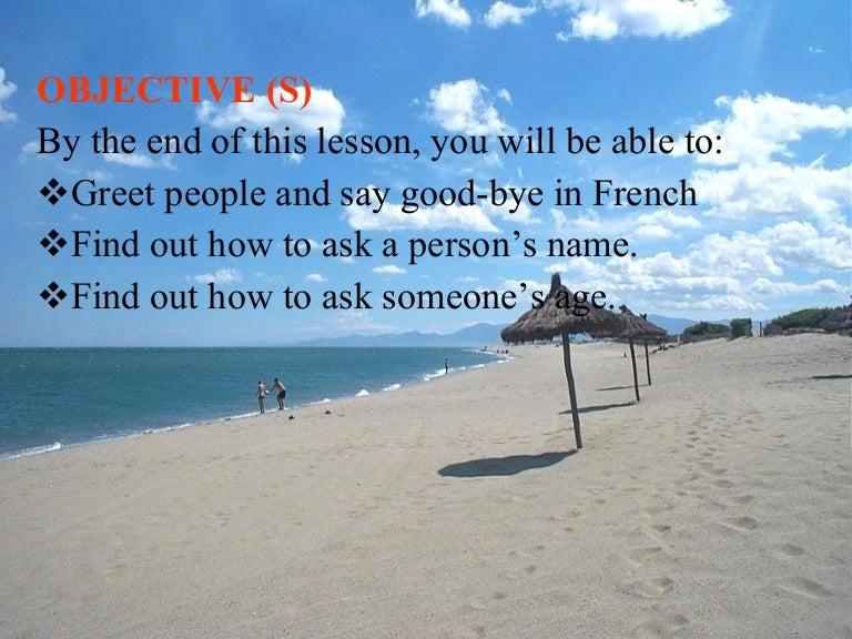 French greeting m4hsunfo