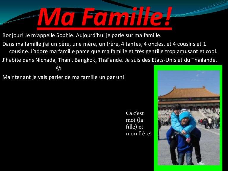 Ma Famille et Ma Maison! -Sophie Hill