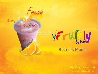 Fresh juice business plan