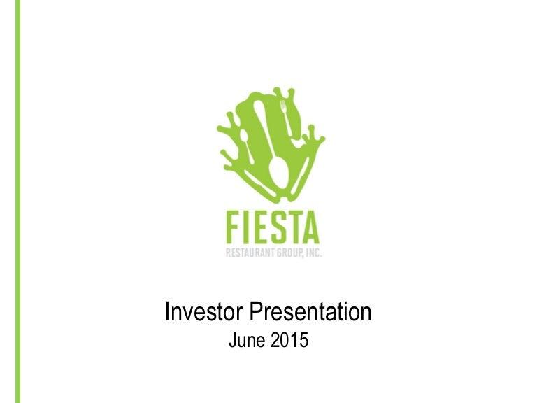 Frgi June 2015 Investor Presentation