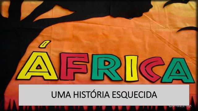 SÍNTESE DA HISTÓRIA AFRICANA