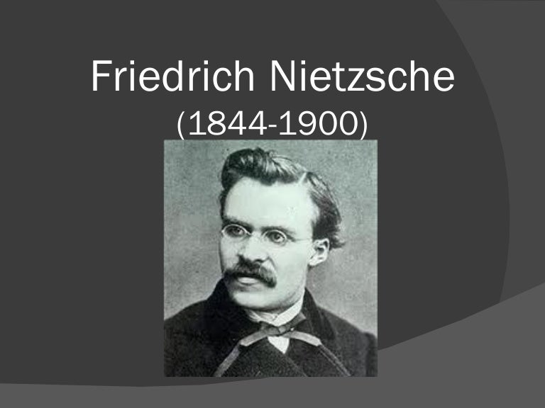 an analysis of the novel of friedrich nietzsche F riedrich nietzsche heralds the death of god poetically in his zarathustra book of 1884, and returns to it as a philosophical dictum in the antichrist (1888) by philosophical i mean this wasn.