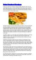 Fried Seafood Recipes