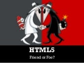 HTML5: friend or foe (to Flash)?