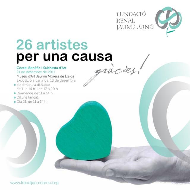 Catàleg subhasta d'art benèfica Fundació Renal Jaume Arnó
