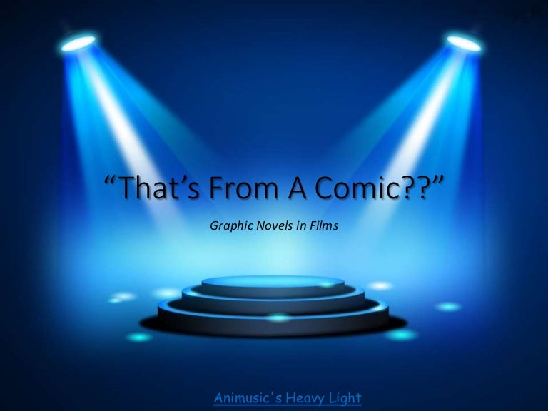 Comic book lighting Black White Simple Slideshare From Comic Book