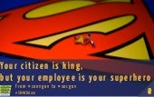 From #convgov to #socgov: citizen is king, but your employees are your superheroes!