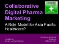 Collaborative Digital Pharma Marketing: A Role Model for Asia Pacific Healthcare?