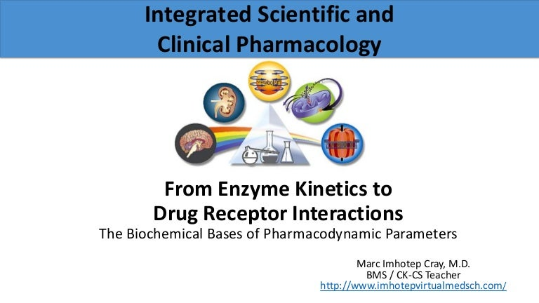 From Enzyme Kinetics To Drug Receptor Interactions