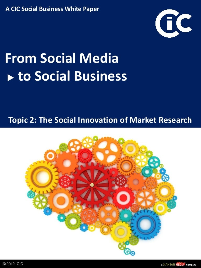 from social media to social business topic the social innovation