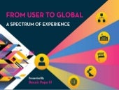 From User to Global: A Spectrum of Experience