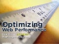 Optimizing web performance (Fronteers edition)