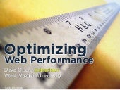 Preview of Optimizing web performance