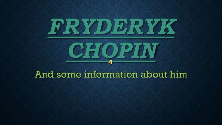 Fryderyk Chopin by Weronika Pałat