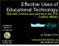 Blended, Continuous Learning in the 21st Century Military