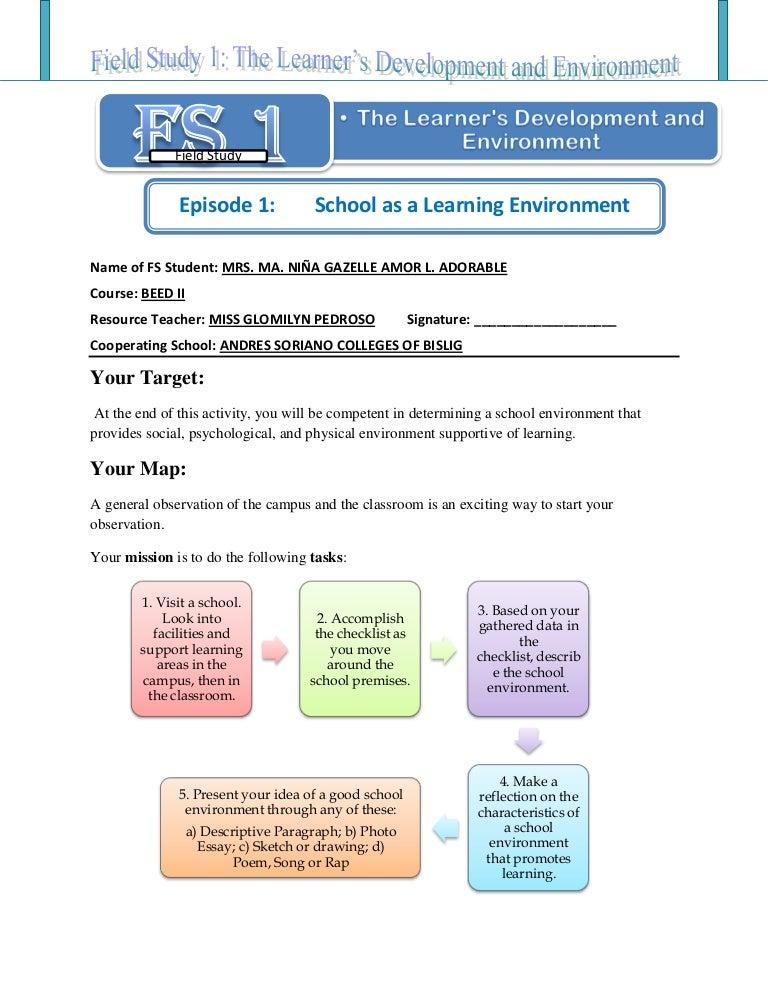 descriptive essay about dream place Classroom Behavior Essay