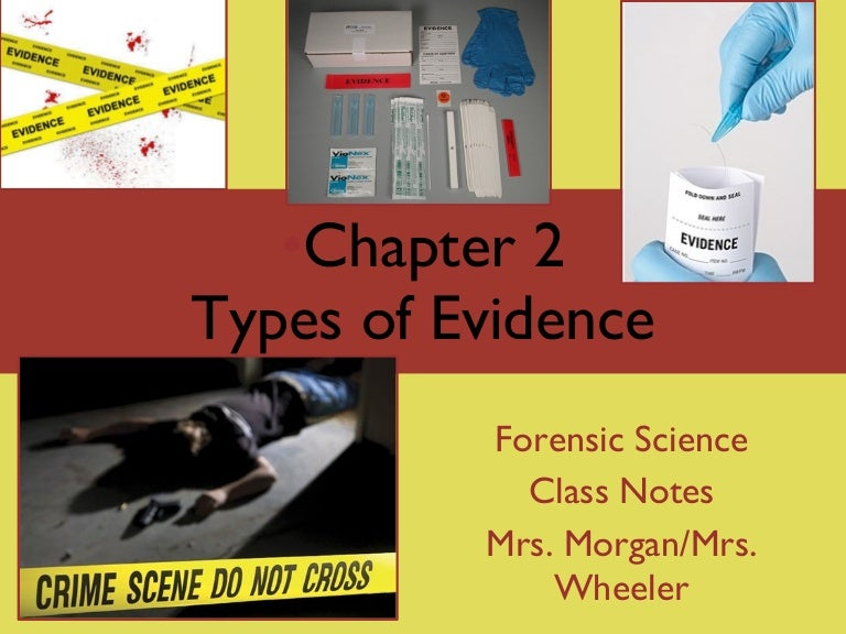 Forensics Ch 2 Notes