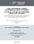 NY DEC Final Supplemental Generic Environmental Impact Statement - Vol. 1