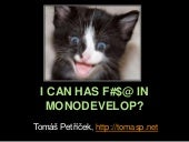 F# in MonoDevelop
