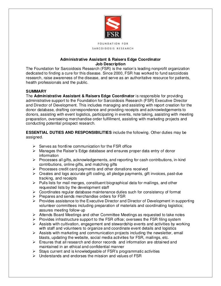 Beautiful Logistics Assistant Job Description Contemporary - Best