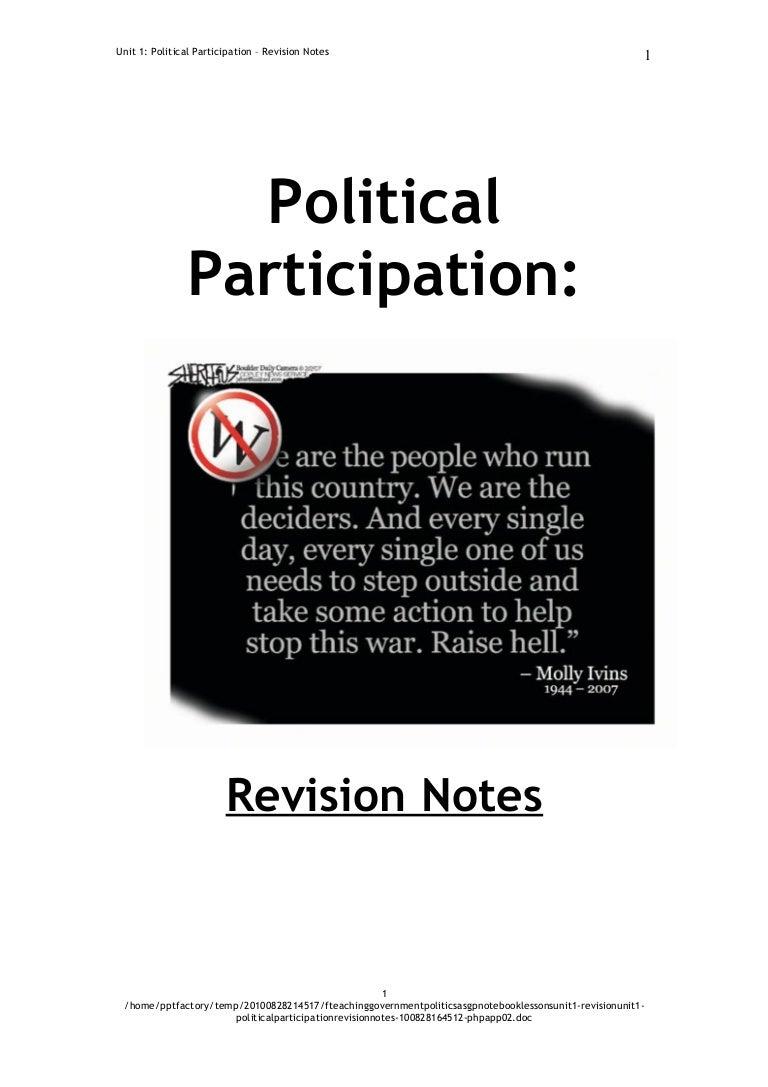 F:TeachingGovernment & PoliticsAs G&P Notebook LessonsUni…