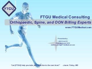 FTGU Services Presentation