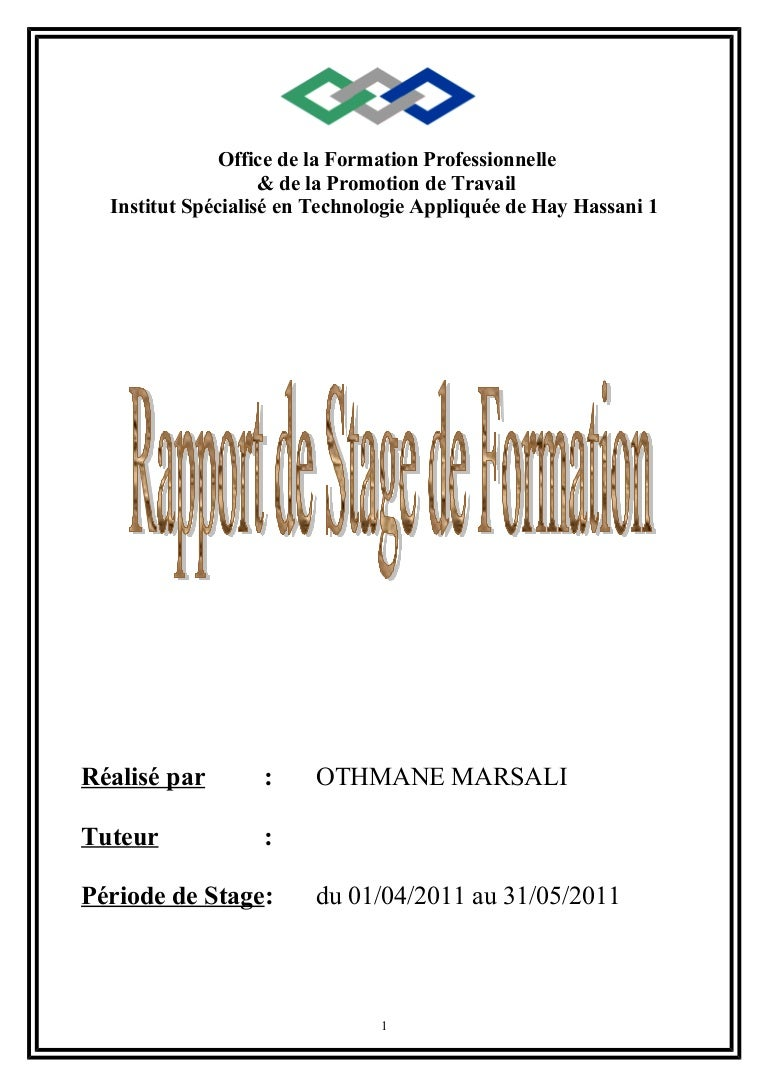 GRATUIT STAGE RAPPORT TÉLÉCHARGER DE FIDUCIAIRE