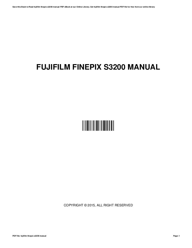 Fuji finepix s3200 user manual by preseven0 issuu.