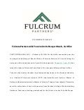 Fulcrum Partners Adds Tom Cook to Its Newport Beach CA Office