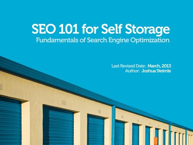 Self Storage SEO 101 - Asia Focus
