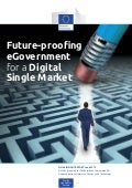 (Full report) Future-proofing eGovernment for a Digital Single Market