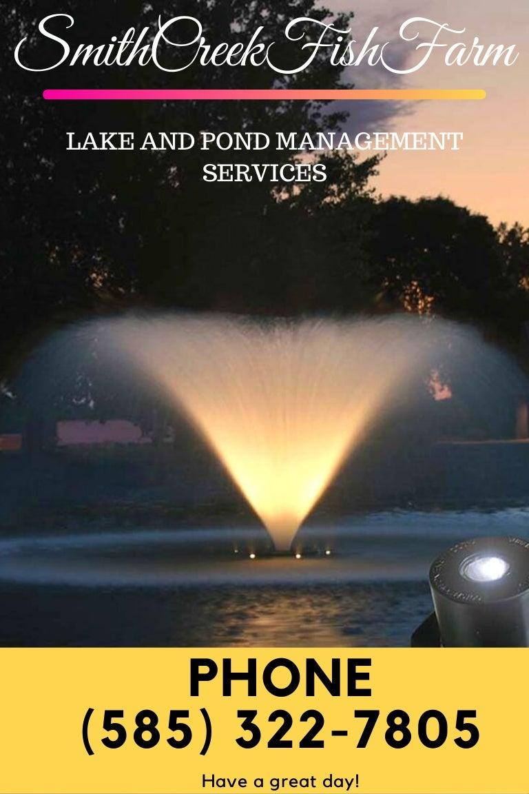 large lake maintenance