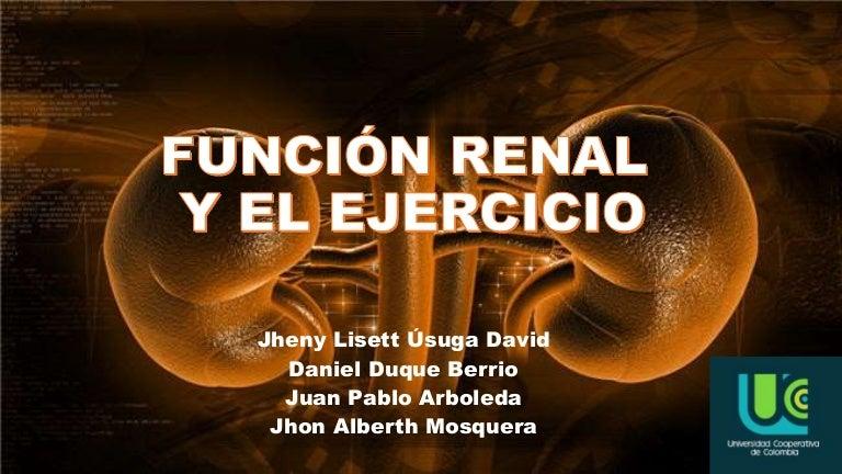 Función renal y ejercicio físico