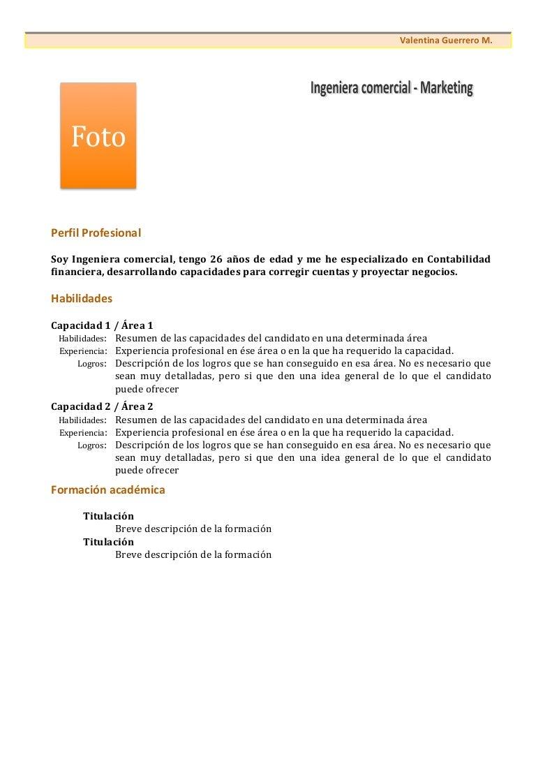 Funcional curriculum-vitae-modelo1b-naranja
