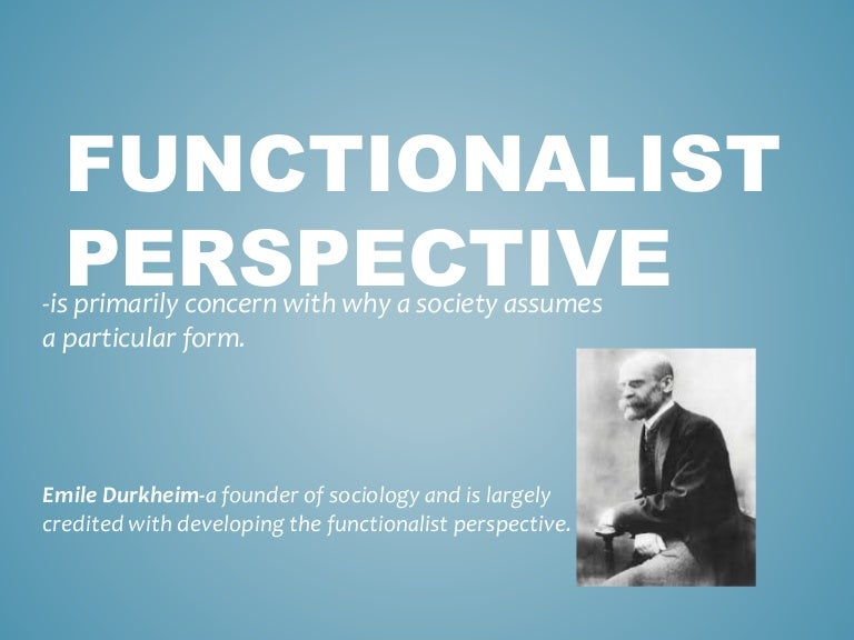 functionalist perspective on racism The author of more than 100 scholarly publications including 50 peer-reviewed articles and 10 books, his most recent books include race, ethnicity, crime and justice: an international dilemma and criminological perspectives on race and crime (2 nd edition) dr.