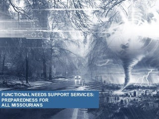 Functional Needs Support Services Preparedness Missouri