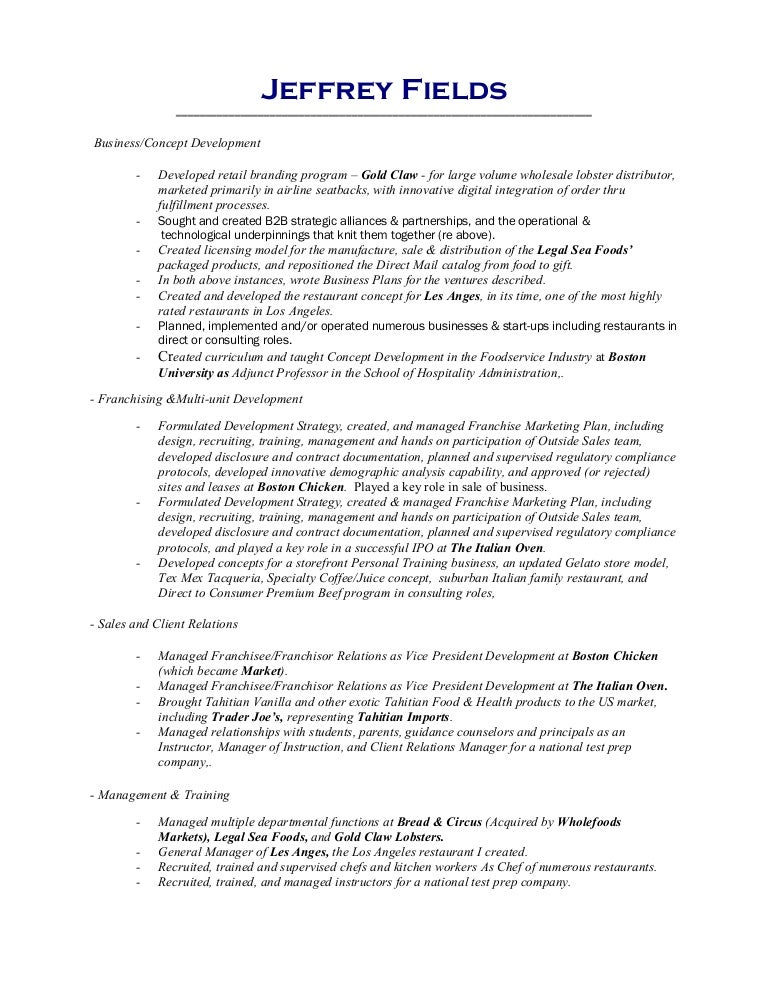 Format Of Functional Resume Template Samples Writing Guide Rg 15 Free Examples