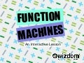 Student Response - Function machines
